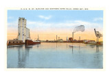 Grain Elevator and Paper Mills, Green Bay, Wisconsin