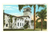County Courthouse, Santa Barbara, California