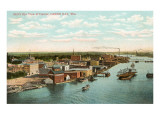 Overview of Harbor, Green Bay, Wisconsin