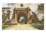 Arch at Courthouse, Santa Barbara, California