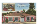 The Pink Cricket Restaurant, Santa Barbara, California