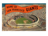 Candlestick Park, Giant's Pennant, San Francisco, California High Angle View of a Stadium, Pac Bell Stadium, San Francisco, California, USA San Francisco Giants OF Willie Mays - January 17, 1970 AT&T Park - San Francisco, California San Francisco Giants Logo Sports Poster San Francisco Giants - 2014 World Series Champions San Francisco Giants- Buster Posey 2016