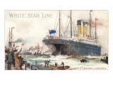 White Star Line, Cedric Leaving Liverpool