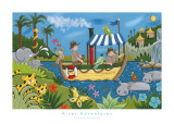 River Adventures Art Print