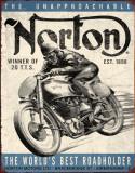 Norton - Winner Tin Sign