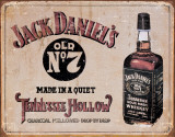 Jack Daniel's - Tennessee Hollow Tin Sign