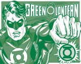 Green Lantern - Duotone