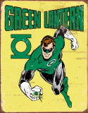 Green Lantern Retro Tin Sign
