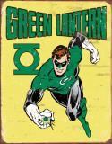 Green Lantern Retro Tin Sign