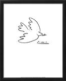 Dove of Peace Framed Art Print