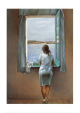 Person at the Window Art Print