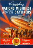 Super-Skyliner Kunstdruck