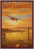 Western Air Express, San Francisco, California - Art Print
