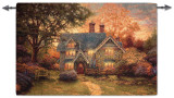 Gingerbread Cottage Wall Tapestry