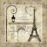 Paris Holiday Art Print