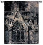 Gothic Language Wall Tapestry