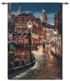 Night Stroll Wall Tapestry