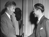US Vice President Henry Wallace Greeting Dr. James Yen, Leader of Chinese Mass Educational Movement