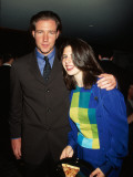 Actors Ed Burns and Heather Mattarazzo