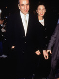 Buy Actor Daniel Day-Lewis with Wife Rebecca at Film Premiere of &quot;The Boxer&quot; from Allposters
