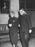 Generals Evangeline Adams and Albert Osborne of Salvation Army