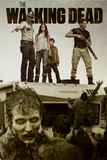 The Walking Dead - Attack Poster