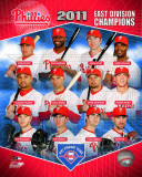 Philadelphia Phillies 2011 NL East Champions Composite