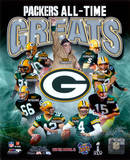 Green Bay Packers All Time Greats Composite Photo