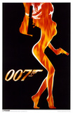 James Bond - Flame Girl