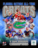 University of Florida Gators All Time Greats Composite