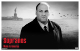 Sopranos - Tony with Statue of Liberty
