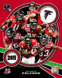 Atlanta Falcons 2011 Team Composite