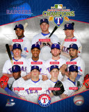 Texas Rangers 2011 American League Champions Composite