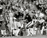 Marcus Allen & Jim Plunkett Super Bowl XVIII Action
