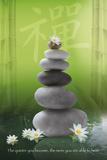 Zen-Pebbles Poster