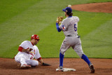Game 7 - Rangers v Cardinals, St Louis, MO - October 28: Ian Kinsler and Rafael Furcal