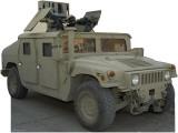 Army Hummer Lifesize Standup Cardboard Cutouts