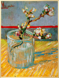 Blossoming Almond Branch in a Glass, c.1888