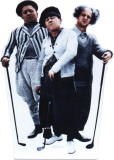 Three Stooges-Golf Cardboard Cutouts