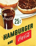 Coca Cola Hamburger Mini Poster