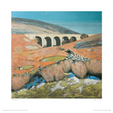 Yorkshire Landscape With Viaduct