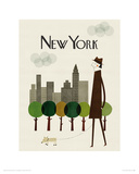 New York Giclee Print
