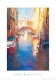 Buy Canal With Orange Bridge at AllPosters.com