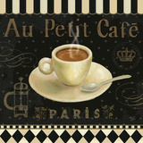 Cafe Parisien II Art Print