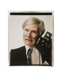 Self-Portrait with Polaroid Camera, c.1979 Art Print