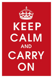 Keep Calm (Red)