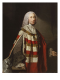 Portrait of a Nobleman, Thought to Be James, 8th Earl of Moray, Standing Three-Quarter Length, in…