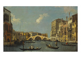 Buy The Cannaregio, Venice, with Palazzo Testa, Palazzo Surian-Bellotto and the Ponte Dei Tre Archi,... at AllPosters.com