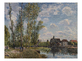 Moret, View of the Loing an Afternoon in May; Moret, Vue Du Loing, Apres-Midi De Mai