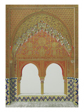 La Alhambra, From: Plans, Elevations, Sections and Details of the Alhambra from Drawings Taken on…